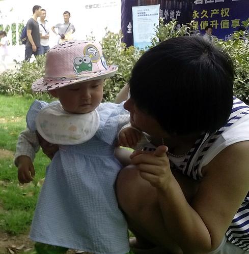 带西瓜囡囡去世博园2014-5-11