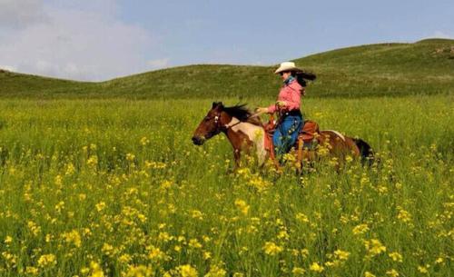 北京马友骑马穿越草原深处游