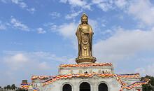 上海往返普陀山旅游大巴车票<往返票黄浦旅游集散站取票上车>好评100%!