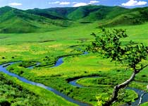 乌兰毛都草原