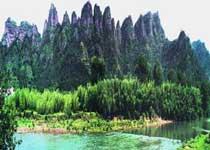 穿岩十九峰景区
