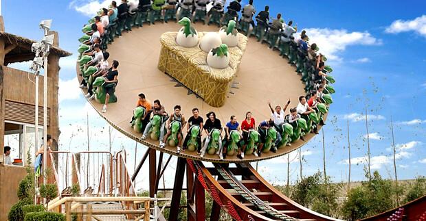 杭州到常州恐龙园二日游 游中华恐龙园 泡恐龙谷温泉