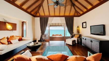 杭州到马尔代夫四晚六日自由行 阿雅达岛,沙滩别墅 水上别墅,含早晚餐 含税